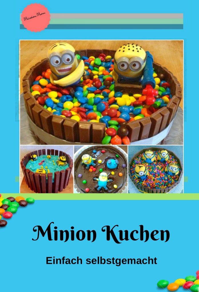 Minion Geburtstagskuchen einfach