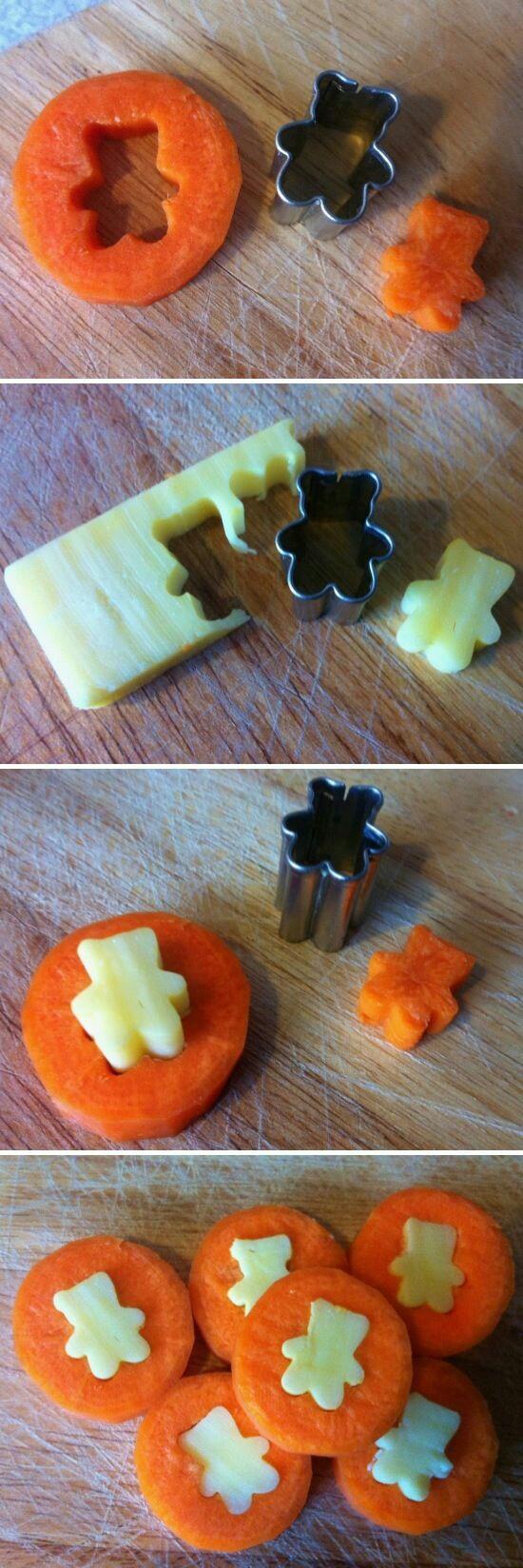 gesunde Snacks für Kindergärten