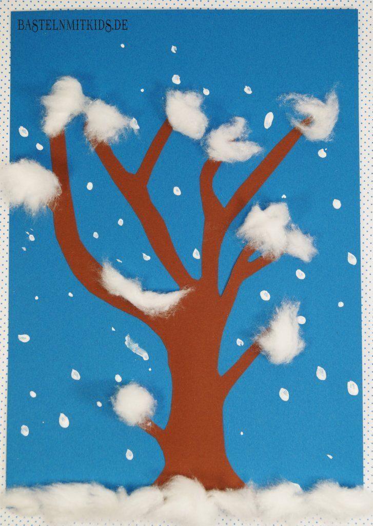 Basteln mit Kindern Winter