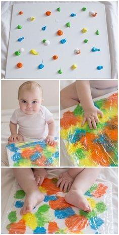 Basteln mit Kleinkindern