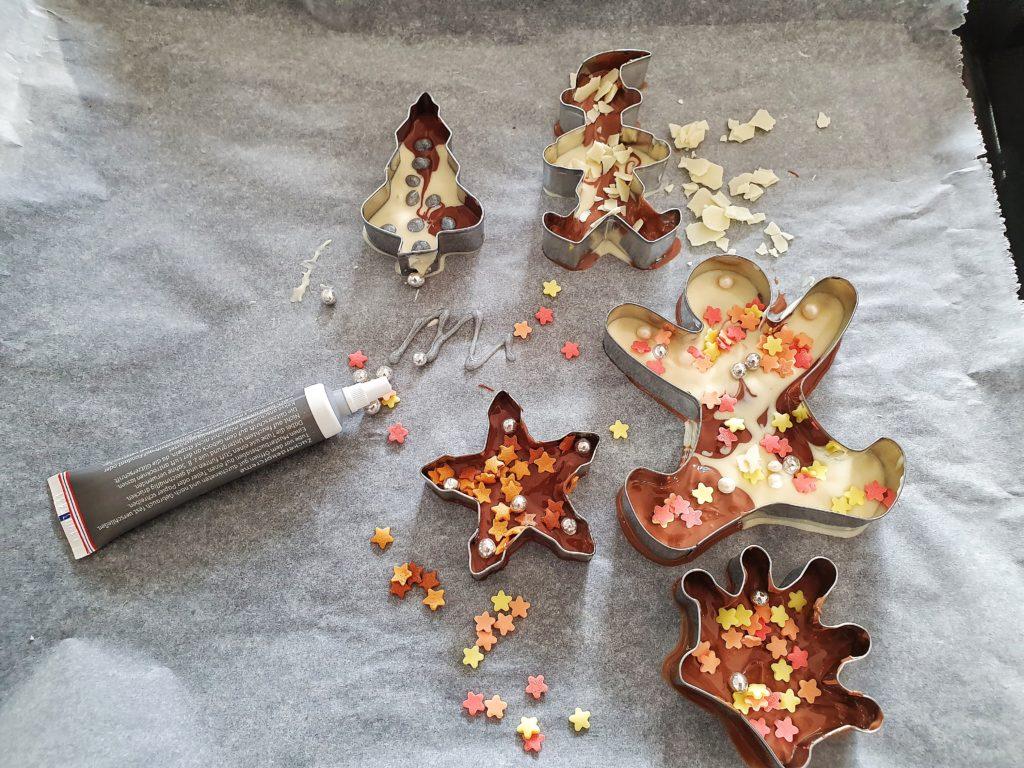 Schokoladen Geschenk herstellen