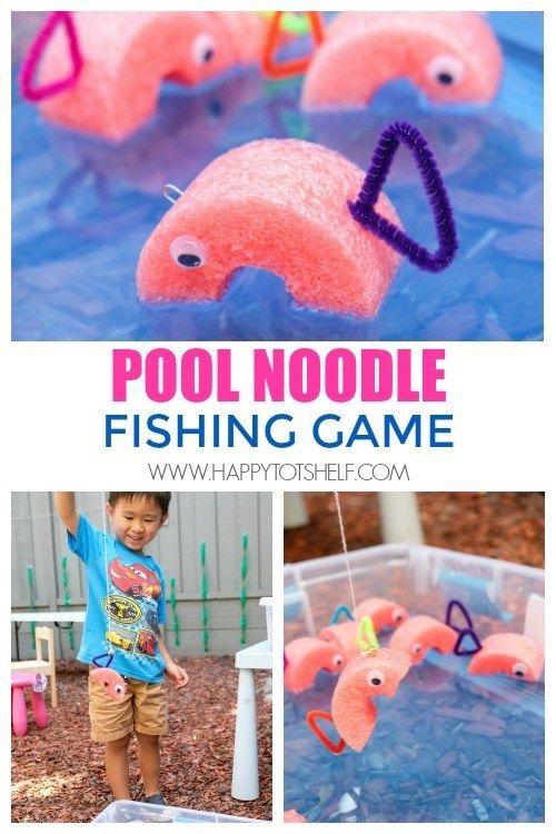 DIY Spiele für Kinder im Sommer