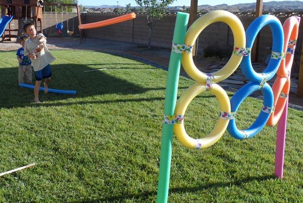 lustige Outdoorspiele für Kinder
