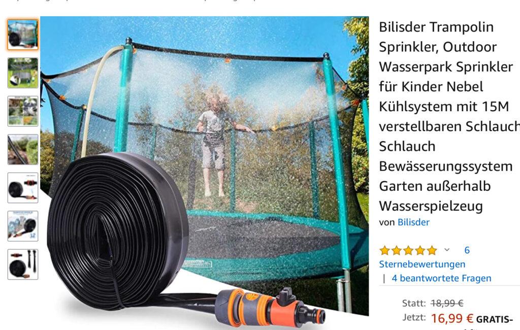 Trampolin Sprinkler kaufen