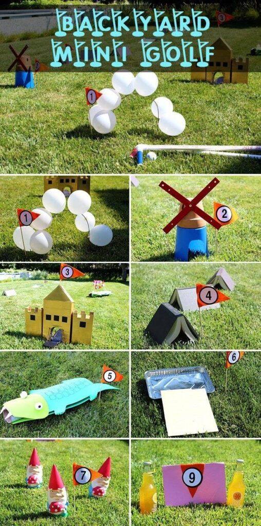 lustige Kinderspiele für draussen