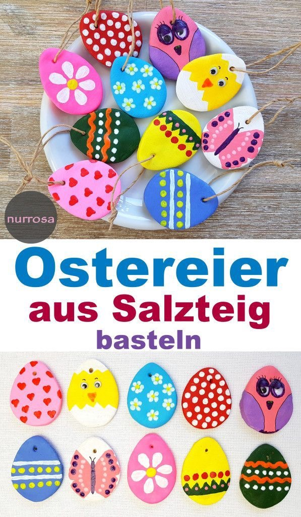 Oster basteln mit Kindergartenkinder
